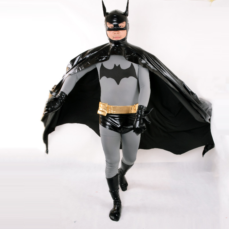 Buy Batman Dark Knight cosplay batman costume adult party halloween costumes for men superhero fancy suit cape mask plus size custom in Cheap Price on ... & Buy Batman Dark Knight cosplay batman costume adult party halloween ...