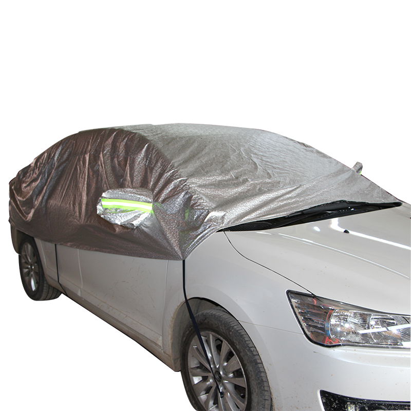 Low Prices Waterproof Big Half Disposable Plastic Car Cover