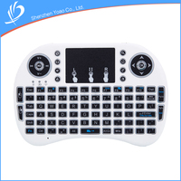 Best Cheap High Tech Handheld Glow Wireless Keyboard For Multimedia Devices