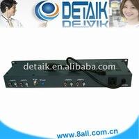 JM-860 4 Channels Fixed Modulator / radio broadcast equipment SAW Filtered TV Modulator