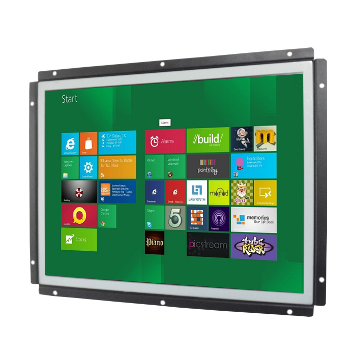 "4:3 LED Square Touch Screen Open Frame 10"" 12"" 15"" 17"" 19"" Industrial LCD <strong>Monitor</strong>"