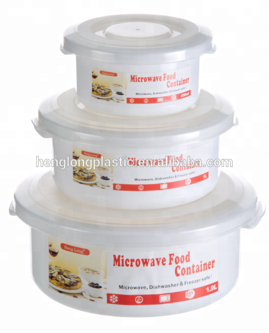 12 piece microwave food container airtight food storage container with four side lock lids