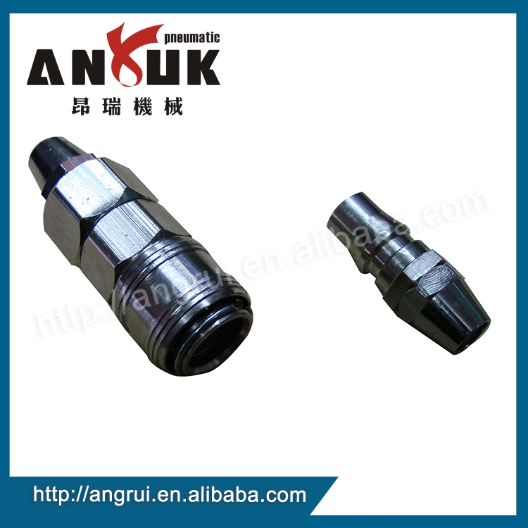 Factory wholesale quick connect pneumatic fittings, metal coupler