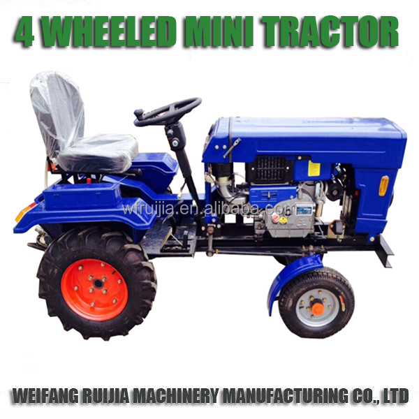 New Made China Small 4wd Tractor With Farming Implements For Sale ...