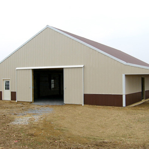 Stable Light Steel Framing Metal Barn