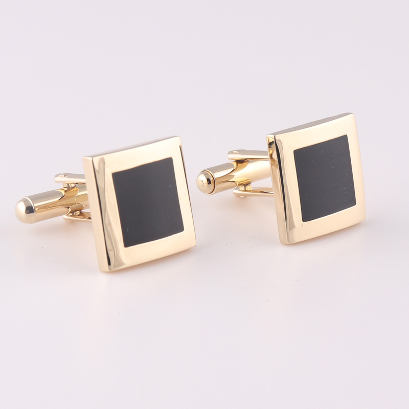 Gold Plated Copper Cufflinks For Men
