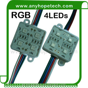 Cheap price SMD5050 4LEDs RGB LED Clusters