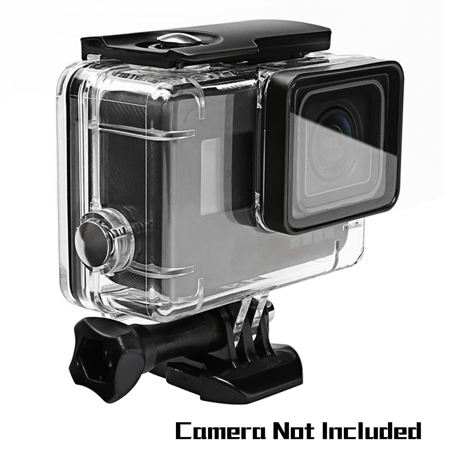 Oumers Waterproof Diving Case For GoPro Hero5/Gopro Hero 6 Black, Replacement Waterproof Housing Cover, Protective Case, 45M Underwater Diving Swimming, Camera Accessories