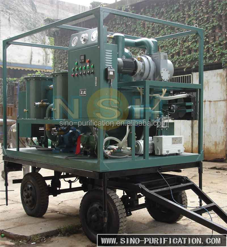 NSH VFD Different Capacity Used Oil Transformer Vacuum Oil Purifier System