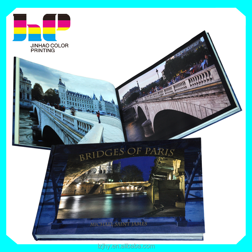 Custom hardcover photographic book printing