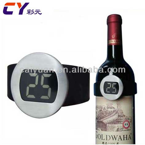 <strong>Wine</strong> accessory stainless steel digital <strong>wine</strong> thermometer