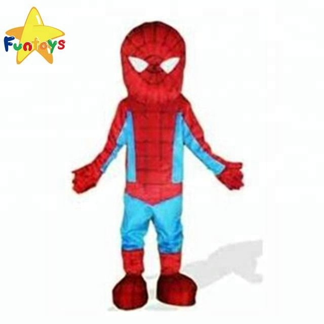 Top Quality Red Spiderman  Mascot Costume Free Shipping