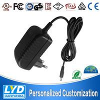 Input 100-240v EU UK AU US plug choosable 2pin 3pin adapter ac to dc output power supply for car cigarette lighter socket