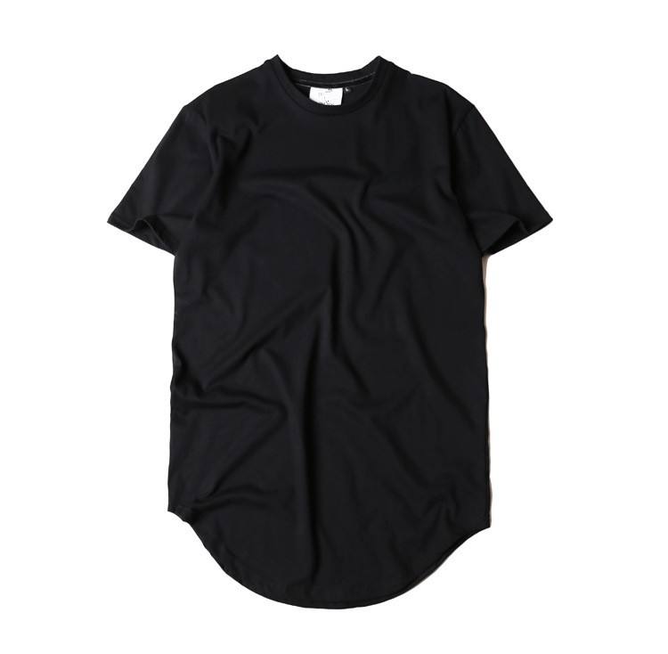 Fashion 2017 t shirt men long t shirt