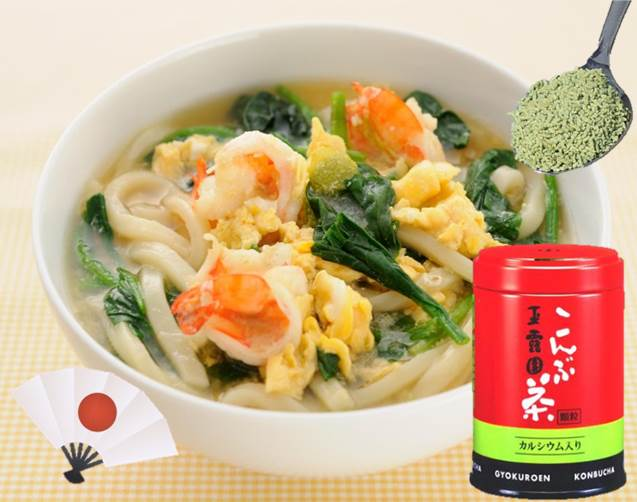 """Konbucha"" 45g Japanese umami rich instant soup also usable as seasoning from the traditional instant drink manufacturer"