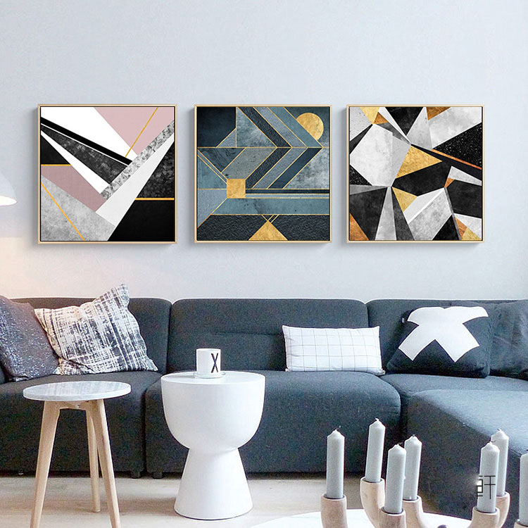 Wholesale Wall Art Picture Frame Decorative Modern Abstract Painting