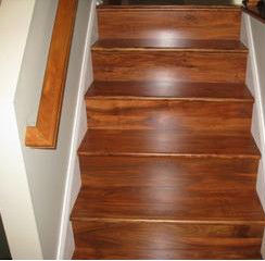 Classic Acacia Wood Stair Treads/Stair Components/wood Tread