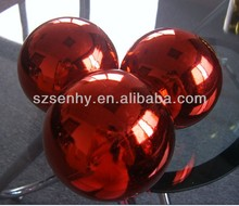 High Quality Hanging Large Red Christmas Balls