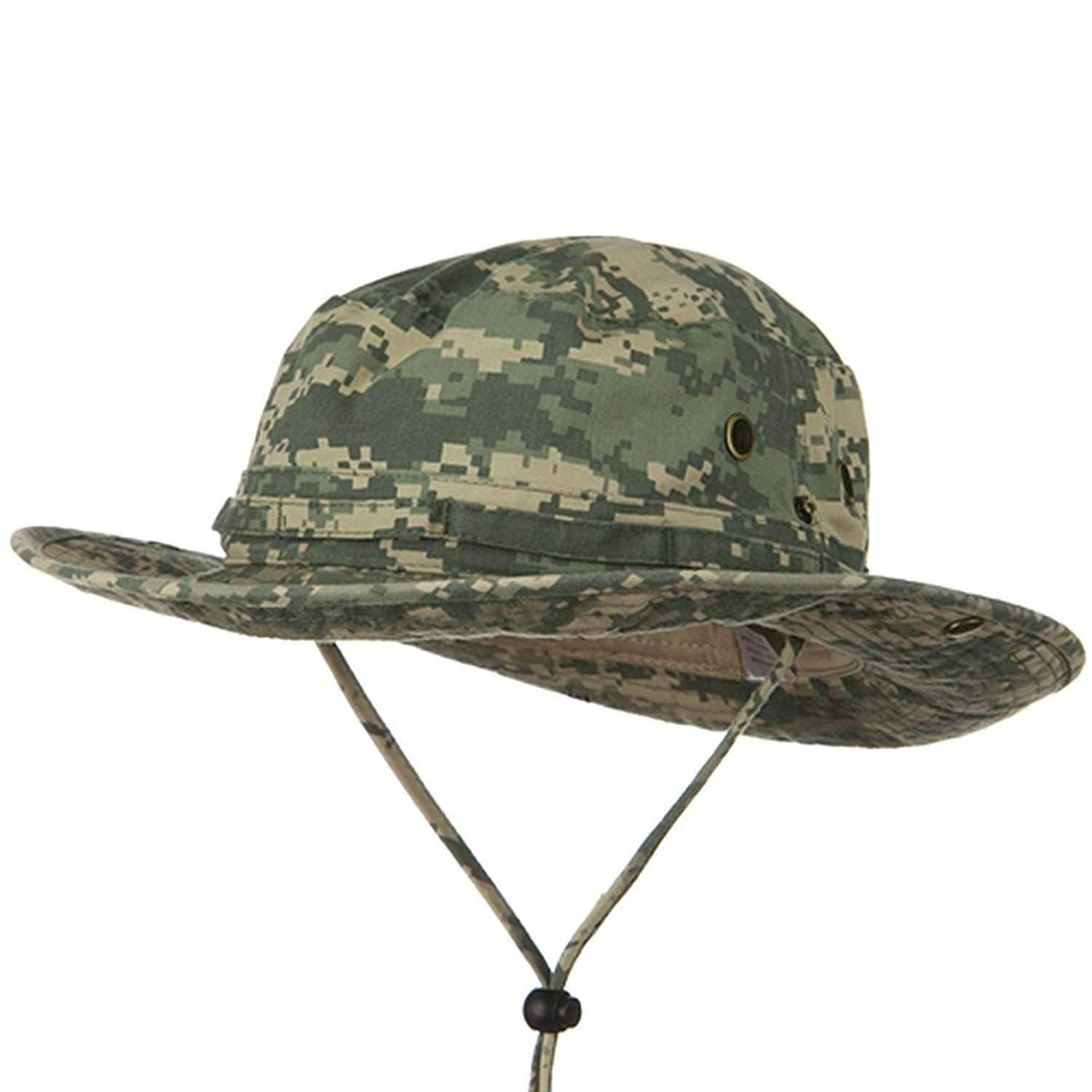 93921eb50c1 Get Quotations · E4hats Youth Washed Hunting Hat - Digital Camo W20S09F