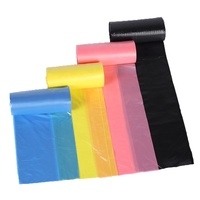 Flat Poly Plastic Weed Bags Transparent Packaging Bag
