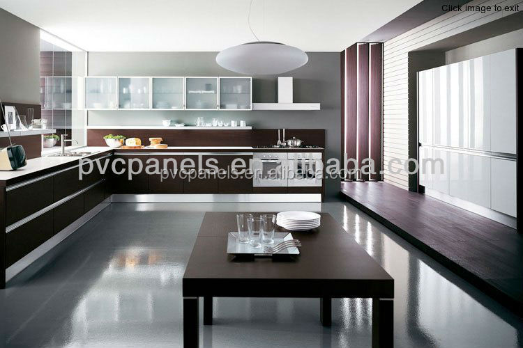 Cocina azulejo de la pared decoraci n pvc falso techo for Paneles de pvc para banos