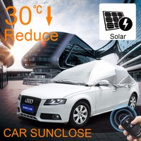 SUNCLOSE inflatable car cover for hail awnings australia