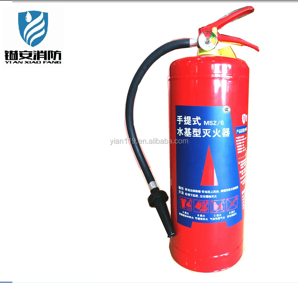 Wet chemical fire extinguisher in Dubai with CE certificate 6L SL