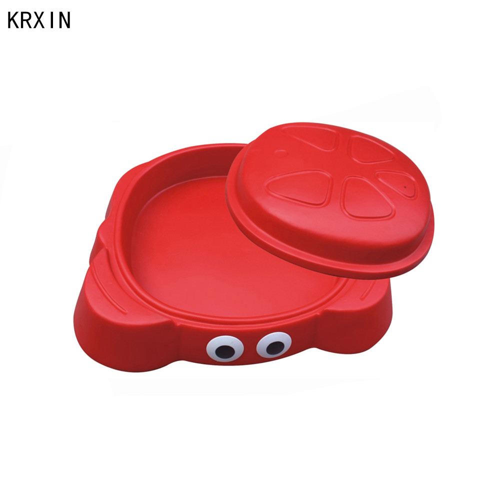Hot selling kids plastic sand box for sale