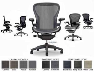 Aeron Desk Chair, Basic, Color - Carbon, Medium
