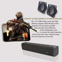 2017 New Portable Wireless speaker Sound System 3D stereo Music surround Mini Bluetooth speaker