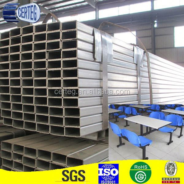 oblong steel tube