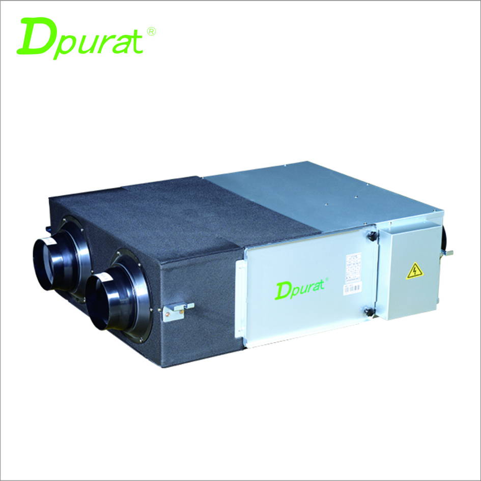 Dpurat Fresh Air Heat Recovery Ventilation System AHE-40 400CMH