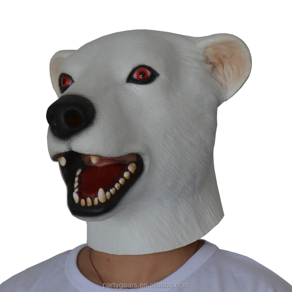 Rubber Face Mask Kids Cartoon Mask Design Your Own Face Mask Adult Bear Costume