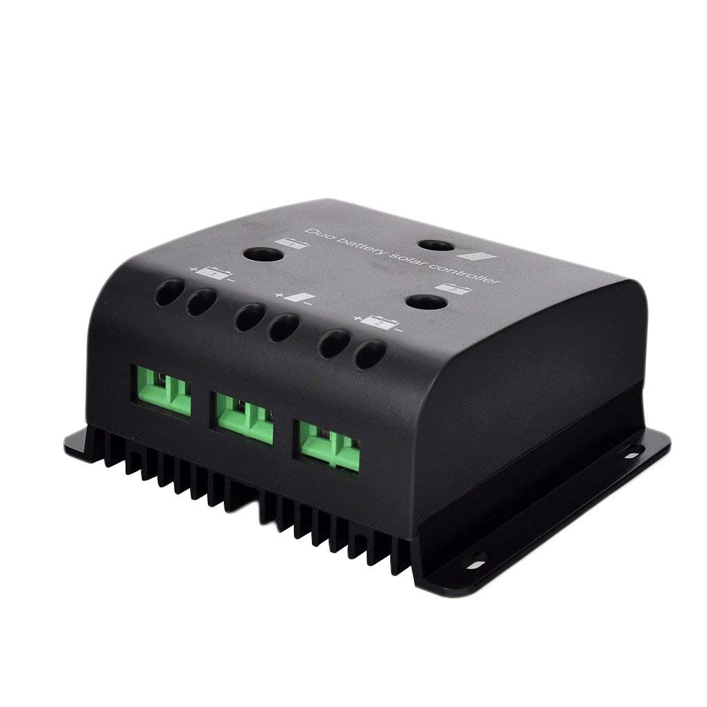 Onepeak 10A Solar Charge PWM Controller Auto Solar Panel Battery Regulator Safe Protection 12V