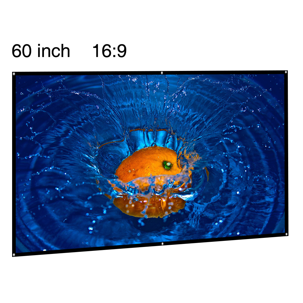 <strong>Portable</strong> projection <strong>screen</strong> 60inch 16:9 Matt White HD Foldable Projector <strong>Screen</strong>
