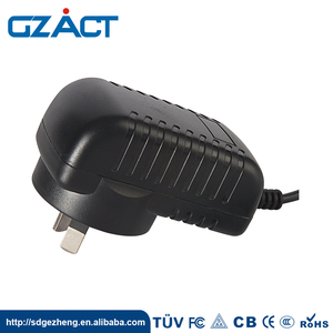 CE SAA UL TUV GS CCC European Socket Power Adapter Wall Plug 12V 18V 1A AC/DC Adapter 500mA