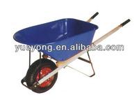Wheelbarrows Wheel barrows with wood handle