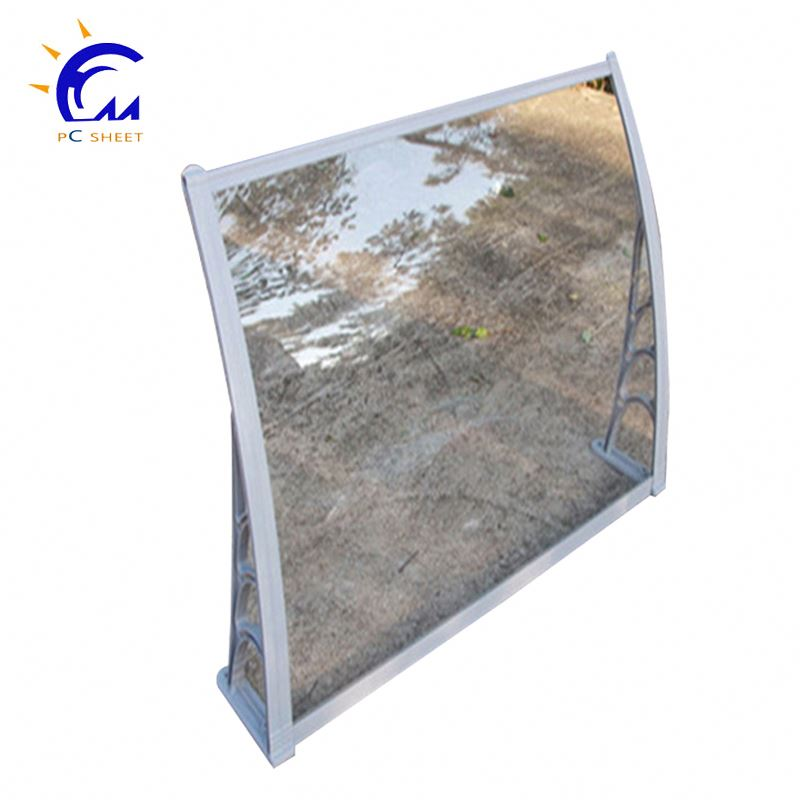 Polycarbonate fabric window waterproof canvas cassette vertical awning