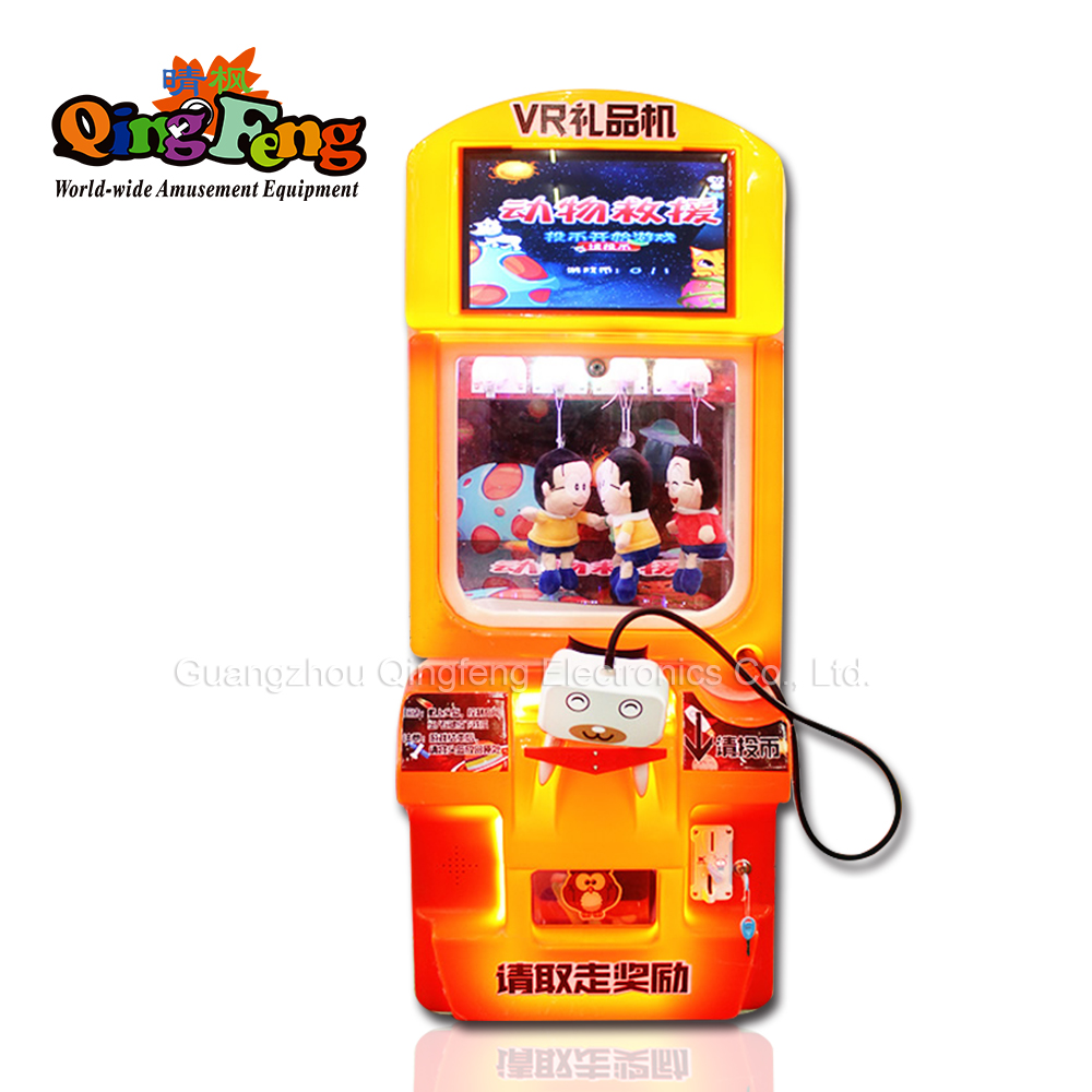 newest kids vr prize out toy vengding game machine with vr glasses machine