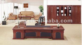 Mobilier de bureau bureau en bois massif moderne bureau exécutif