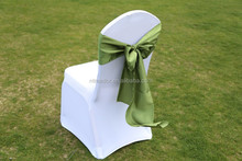fancy satin chair sashes for weddings