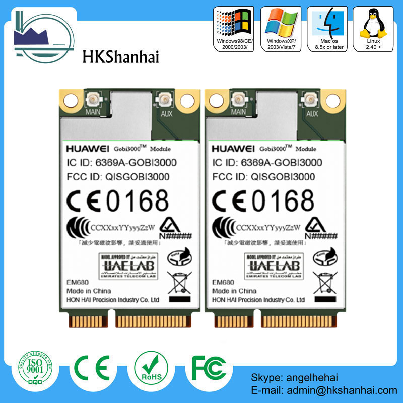 Hot sale huawei em680 3G/GPS/EVDO/HSPA+ Mini PCI Express Module