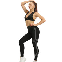 Mulheres Leggings Workout Sports Leggings Sensuais Calças de Fitness Yoga