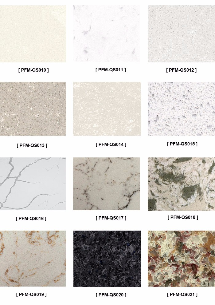white color mixed grey veins venata white faux quartz countertop