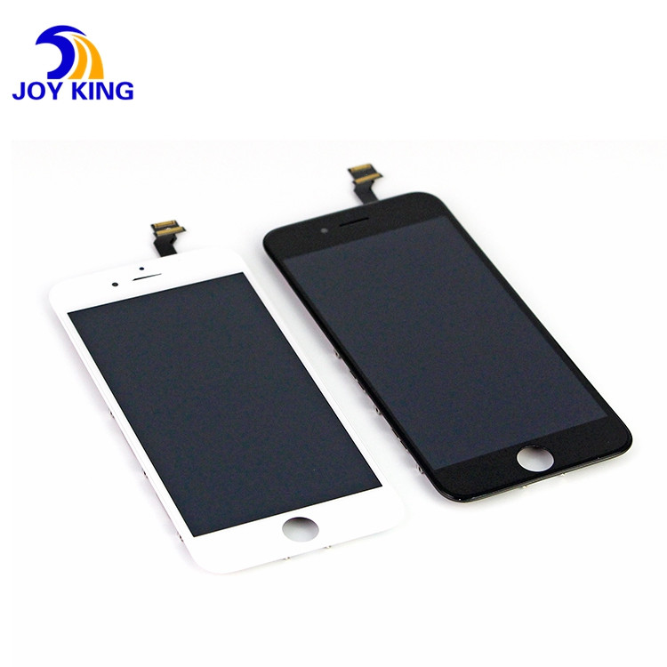 Conjunto da substituição da visualização óptica do toque do digitador do LCD para o iPhone 6