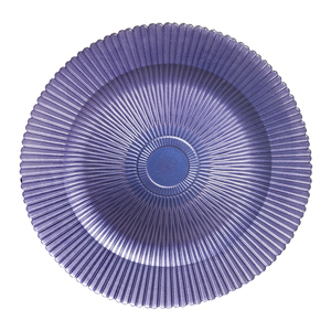 YR Violet 13 Inch Ramadan Plates For Decoration