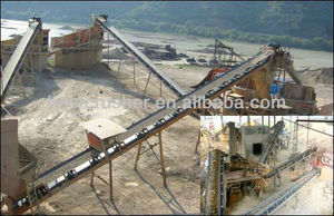 nylon rubber conveyor belt / gravel belt conveyor machine / rubber conveyor belt for sand and gravel