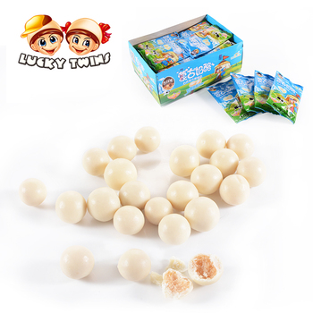 Milk Biscuit Candy Ball White Chocolate Names With Best Quality
