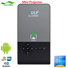 Wechip New Hot Led 1000 Lumens Mini Projector Android Smart Portable C2 Projector