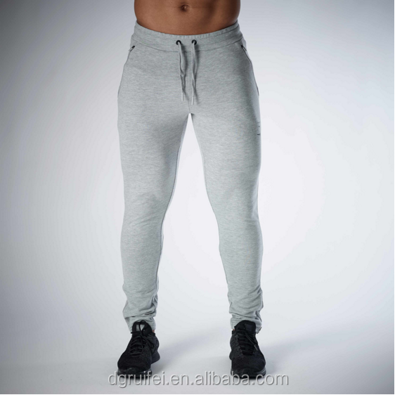custom mens slim fit track pants gym workout pant oem 100%cotton joggers